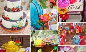 Inspiracion Frida Khalo para bodas