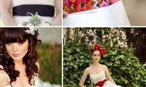 Vestidos de novia con cinturones