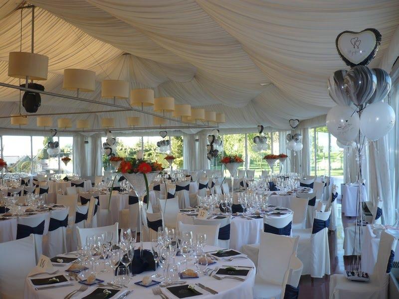 Globos para la boda boda y vida for Salones para casamientos