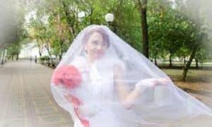 5 formas de no meter la pata al elegir un velo de novia