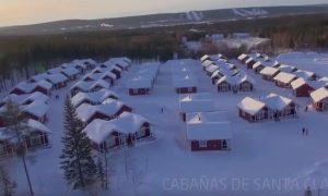 Boda exotica en Laponia